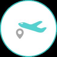 伊丹空港(大阪国際空港)へのアクセスが便利