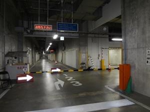 車輛案内灯(入庫進入路)